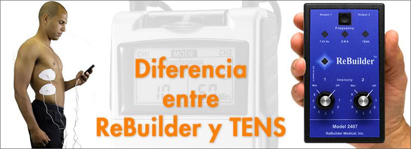 diferencias entre rebuilder y tens
