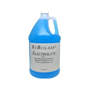 electrolyte gallon solution for rebuilder