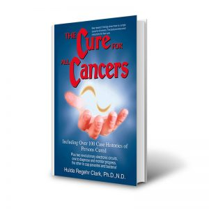 libro the cure for all cancers por hulda clark
