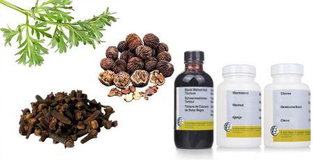 limpieza antiparasitaria herbal de la dra clark