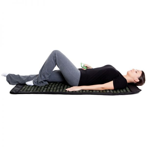 infrared mat with jade stones for therapies