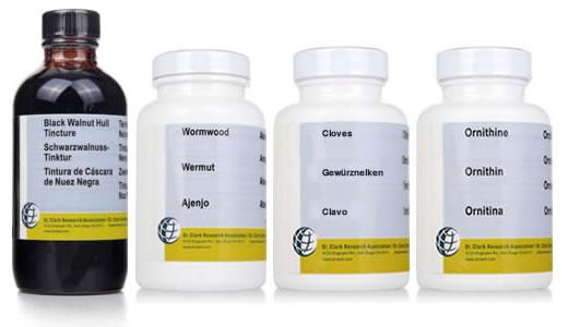 productos de la limpieza antiparasitaria clark