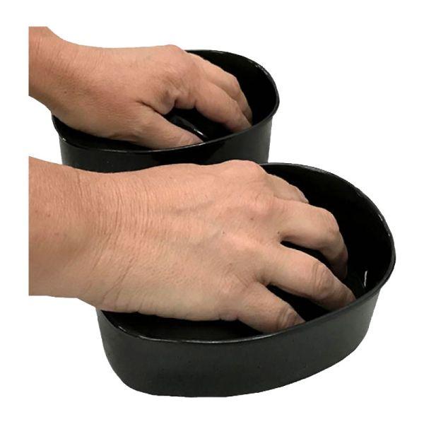 recipiente para manos