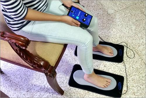 uso de plantillas para pies con rebuilder