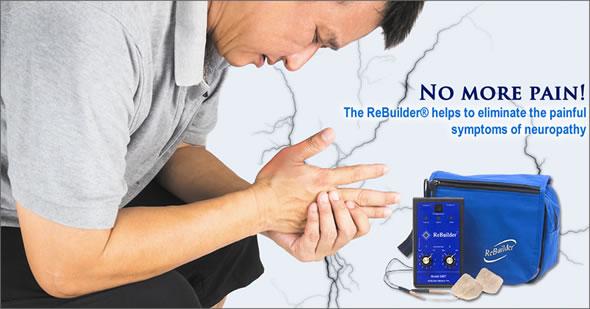 rebuilder elimina los sintomas de la neuropatía periférica