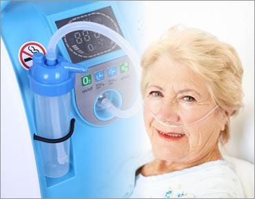 como funciona un concentrador de oxigeno para oxigenoterapia
