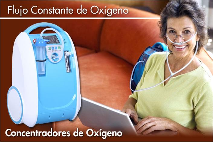 oxigenoterapia con flujo constante de oxigeno