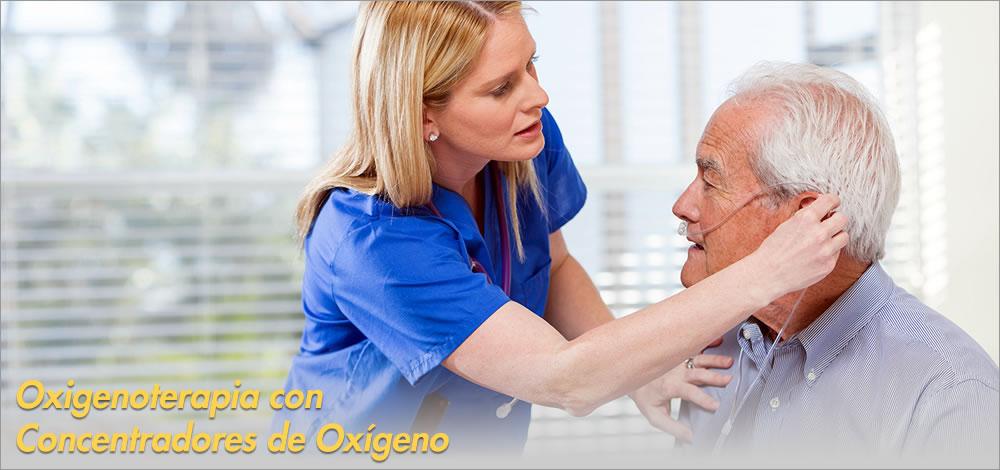 oxigenoterapia con concentradores de oxigeno