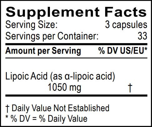 informacion nutricional acido tioctico dra clark