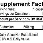 Información Nutricional Glutamina Dra Clark