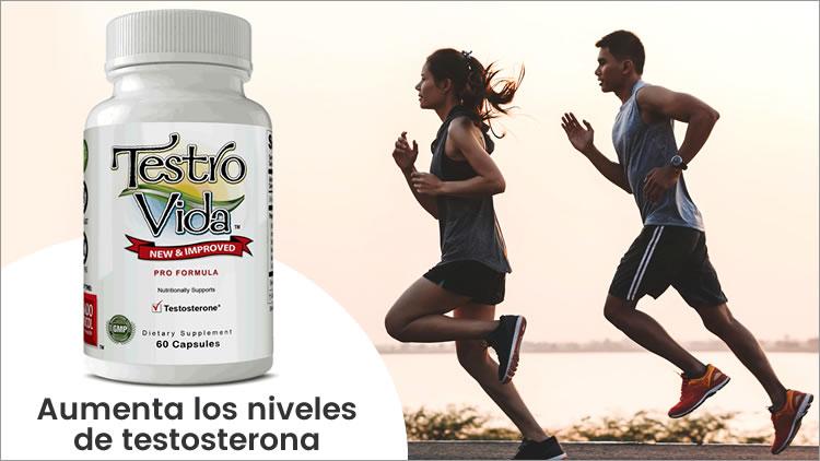 aumenta los niveles de testosterona con testro vida pro