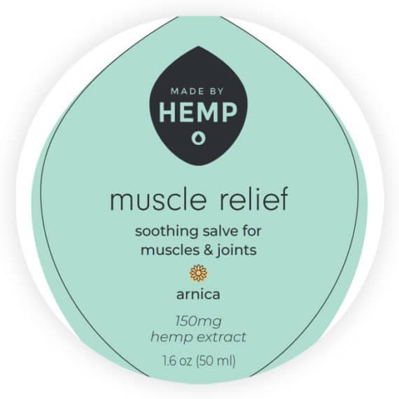 CBD Muscle Balm for pain relief