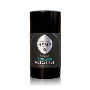 Cooling Muscle Rub CBD