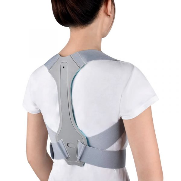 corrector de postura para espalda, cuello y hombros