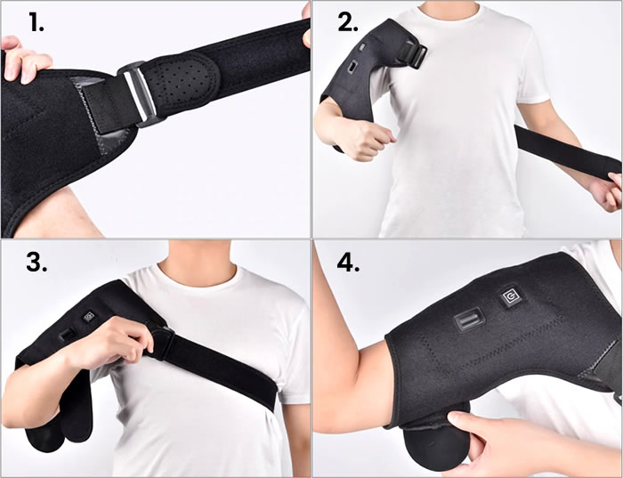 How to use the shoulder support?
