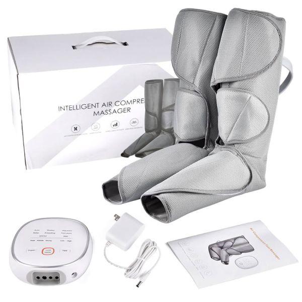masajeador de piernas paquete