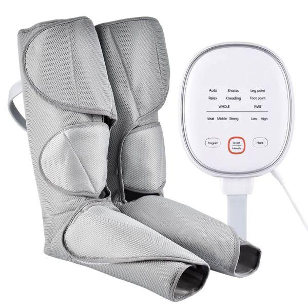 masajeador de piernas por compresion de aire