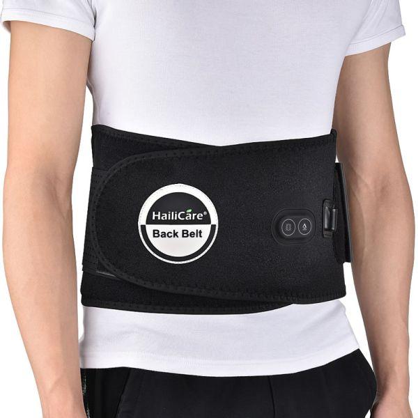 cinturon lumbar de calor infrarrojo para alivio del dolor
