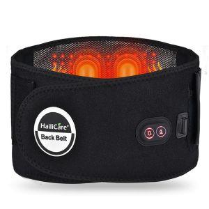 cinturon lumbar de calor infrarrojo y masaje