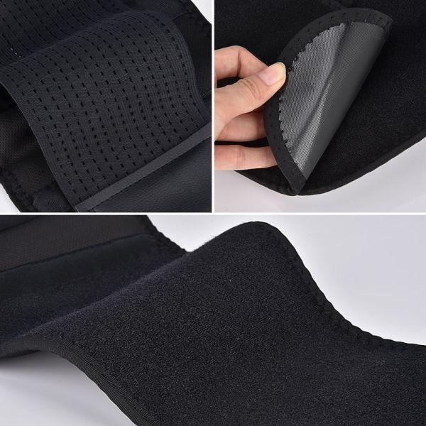 material del cinturon lumbar para masaje