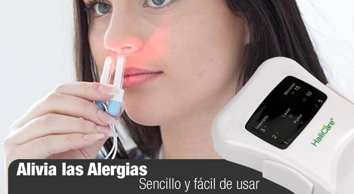 laser para alivio de rinitis alergicas