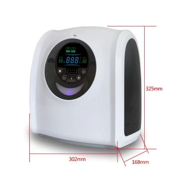 concentrador de oxigeno ajustable medidas