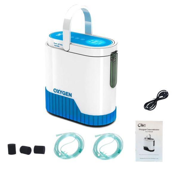 contenido del paquete del generador de oxigeno domestico