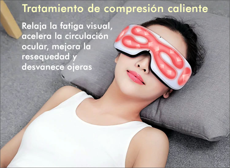 masajeador de ojos para fatiga visual