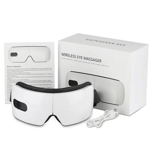 contenido del paquete del masajeador electronico para ojos