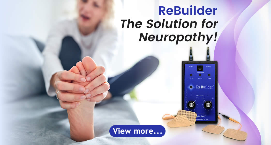 the solution for neuropathy is the rebuilder