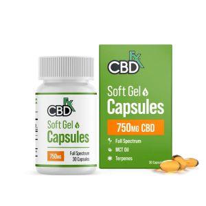 capsulas blandas cbdfx